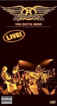 Cover Aerosmith - You Gotta Move - Live! [DVD]